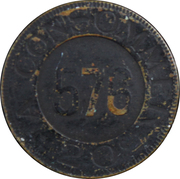 20 Centimes - Marque Deposee – reverse