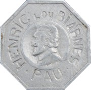 25 Centimes - O. Michelet - Pau [64] – obverse