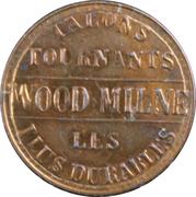 Token - Talons tournants - Wood Milne – reverse