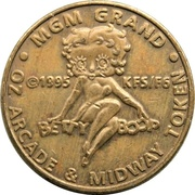 Game Token - MGM Grand (Oz Arcade & Midway) – obverse