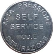 Car Wash Token - Mix Italy (Self Service mod.E, Occimiano) – reverse