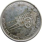 Medal - Western Development Museum (Saskatchewan) – reverse