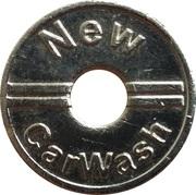Car Wash Token - New CarWash – obverse