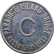 Token - Paradise Island Bridge (C; Nassau, Bahamas) – obverse