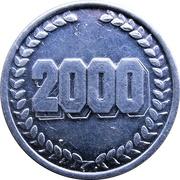 Token - Comerford Féile na Nollaig 2000 – reverse