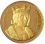 Token - Rois de France (Louis X 1314-1316) – obverse