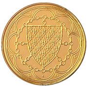 Token - Rois de France (Louis X 1314-1316) – reverse