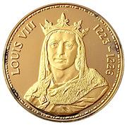 Token - Rois de France (Louis VIII 1223-1226) – obverse