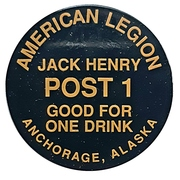 1 Drink - American Legion (Anchorage, Alaska) – reverse