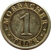 1 Morbacher Taler (Morbach) – reverse