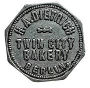 1 Loaf Bread - H.A. Dietrich Twin City Bakery (Berlin) – obverse
