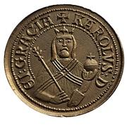 Oversize Replica - Goldgulden of Charles IV – obverse