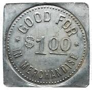 1 Dollar - T.L. Wurm (Zurich, Ontario) – reverse