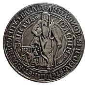 Restrike - Counts of Schlick - Joachimsthaler 1520 – obverse