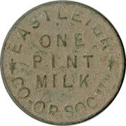 1 Pint Milk - Eastleigh Co-op – obverse