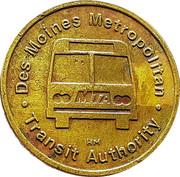 Full Fare - Des Moines Metropolitan Transit Authority (Des Moines, Iowa) – obverse