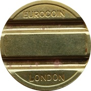 Token - Eurocoin London (with stars) – obverse