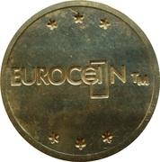 Token - Eurocoin London (with stars) – reverse