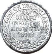 10 Cents - Denny's – reverse