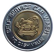 Car Wash Token - Green Lantern (Salinas, Kansas) – reverse