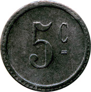 5 Centimes - Persil – reverse