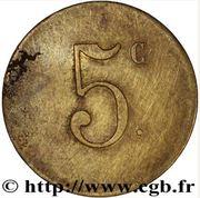 5 Centimes - Société civile de Consommation de Trignac (type 2) – reverse