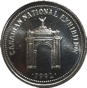 1 Dollar - CNE Casino (Toronto, Ontario) – reverse