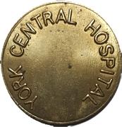 Parking Token - York Central Hospital (Richmond Hill, Ontario) – obverse