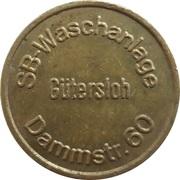 Car Wash Token - SB Waschanlage (Güttersloh) – obverse