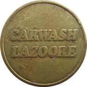 Car Wash Token - Carwash Lazoore (Nieuwpoort) – obverse
