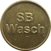 Car Wash Token - SB Wasch – reverse
