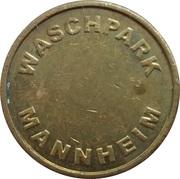 Car Wash Token - Mannheim Waschpark – obverse