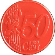 Shopping Cart Token - Continente (50 Cents) – reverse