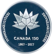 Token - Georgian Bay Coin & Stamp Club (Silver) – reverse