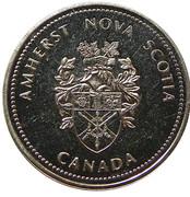 1 Dollar - Amherst, Nova Scotia – obverse