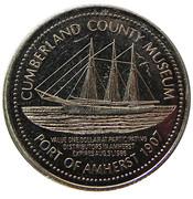 1 Dollar - Amherst, Nova Scotia – reverse
