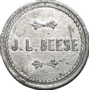 1 Pint - J. L. Beese (Waterloo, Ontario) – obverse