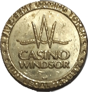 5 Cent Gaming Token - Casino Windsor (Windsor, Ontario) – obverse