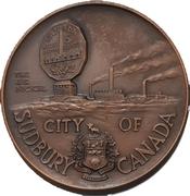 Token - The City of Sudbury (The Big Nickel Park) – obverse