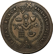 Fraternal Token - Royal Black Knights of Ireland (Woodstock, Ontario) – obverse