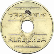 Token - Alrecrea Center Parcs (Bois Francs) – reverse