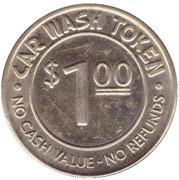 1 Dollar Car Wash Token - Metro Parkway (Fort Myers, Florida) – reverse