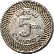 5 Cents - Rideau Carlton raceway (Gloucester, Ontario) – reverse
