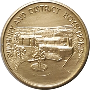 Medal - Sudbury and District Boys Home – obverse