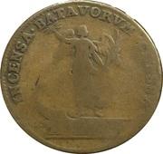 Token - Louis XIV (Incensa Batavorum Classa) – reverse