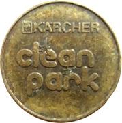 Car Wash Token - Kärcher Clean Park (Freiberg) – reverse
