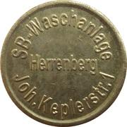 Car Wash Token - SB Waschanlage (Herrenberg) – reverse