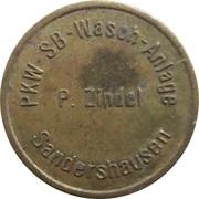 Car Wash Token - SB Waschanlage (Zindel, Sandershausen) – obverse