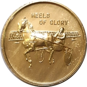 Medal - Sudbury Downs – reverse