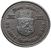 Token - Velbert Savings Bank – obverse